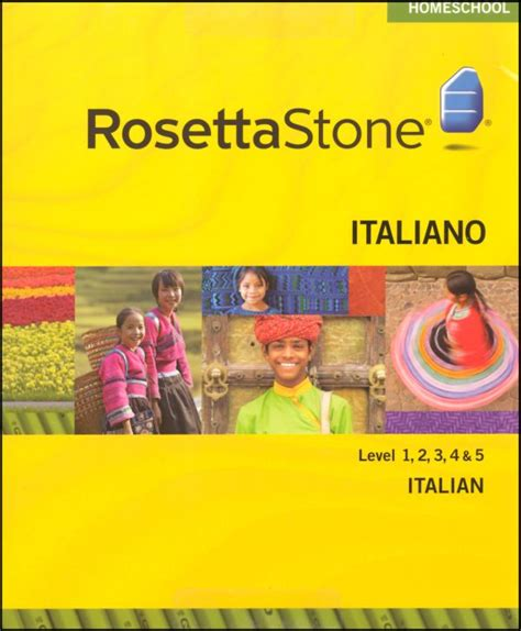 rosetta stone italian reviews rosetta stone italian version 3 levels 1 5 with audio