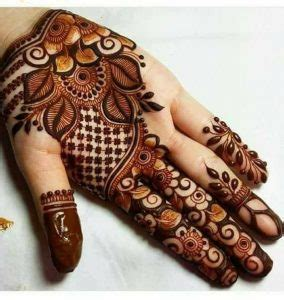 Heena Especiall Bridal Fashion Mehndi Designs 2018