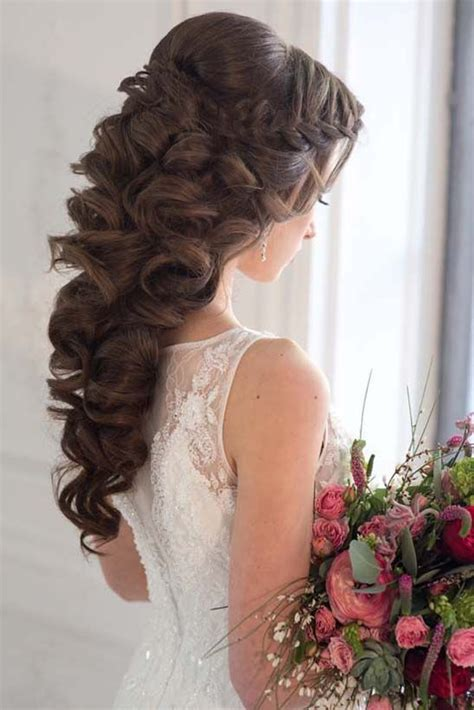 Wedding Hairstyles And Wavy by Best 20 Wavy Wedding Hairstyles Ideas On
