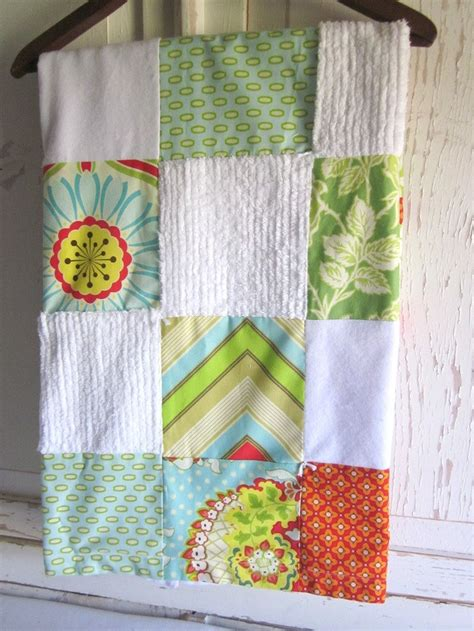 Patchwork Baby Blankets - patchwork chenille baby blanket sewing