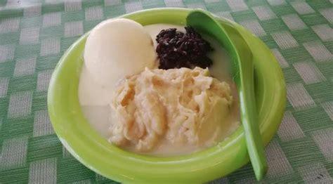 resep membuat sop buah enak resep cara membuat sop durian ketan hitam super enak