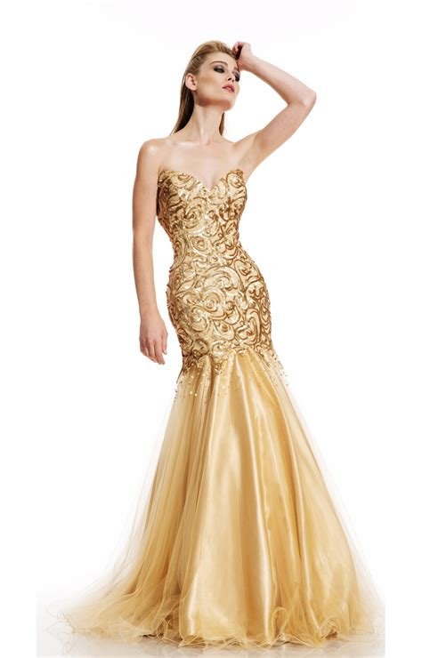 In Gold Dress gold dress a indulgence medodeal