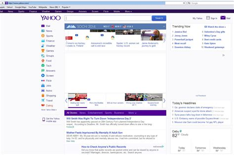 how to make yahoo my homepage officialannakendrick