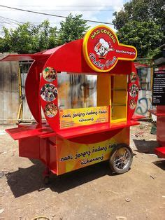 desain gerobak pentol we make customized french fries kiosk ideas pinterest