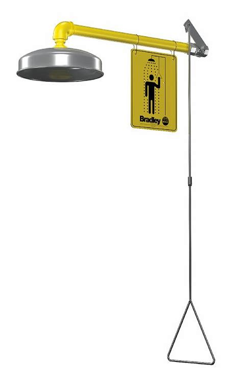 Bradley Safety Shower by Wallingford Sales Company Safety Emergency Equipment