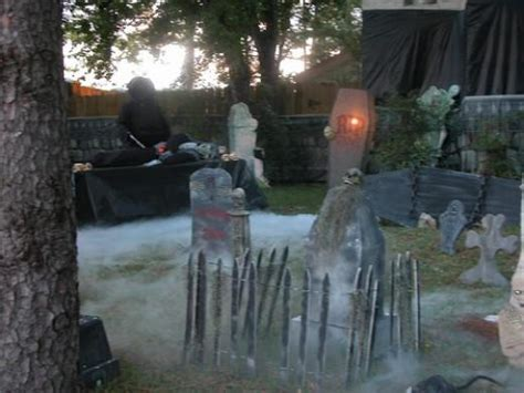 scary front yard decorations yard decoration scary cemetery infobarrel