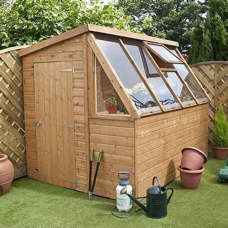 garden shed greenhouse plans 8 x 6 waltons tongue and groove potting shed wooden