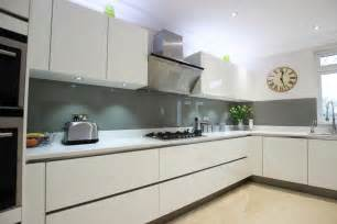 White Gloss Kitchen Designs High Gloss White Acrylic Kitchens
