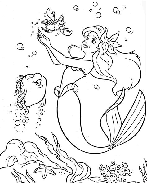 little mermaid coloring page printable colouring pages coloring pages disney princess little