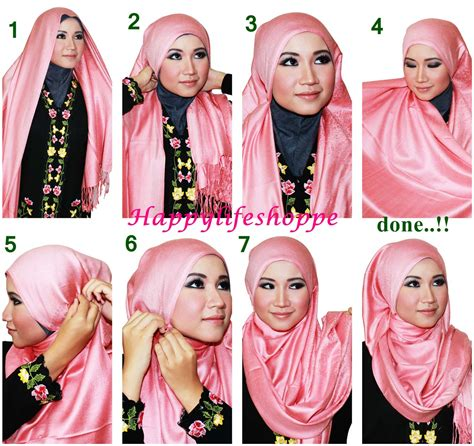 hijab tutorial in trendy style step by step modern hijab styles step by step tutorials 2018 fashionglint