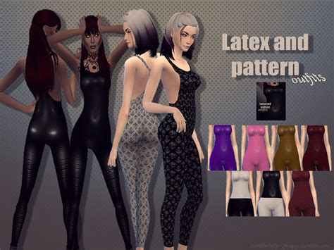 pattern latex dress freqqy s latex and pattern outfits