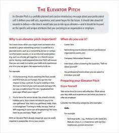 30 second pitch template elevator pitch template doliquid