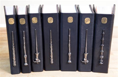 harry potter the wand collection book books these leather bound harry potter editions with horcrux