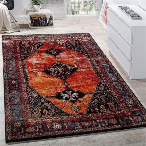 Teppiche Orientalisch designer teppich orientalisch mehrfarbig rot design teppiche