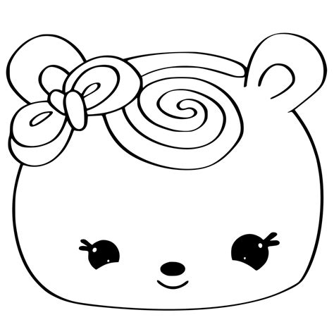 Cute Kawaii Food Coloring Pages Sushi Coloring Pages Num Noms