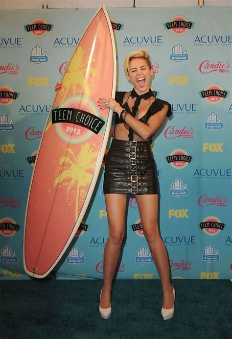 Choice Awards Miley Cyrus by Miley Cyrus At 2013 Choice Awards In Universal City
