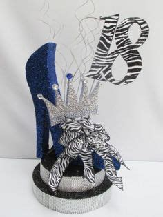 Sepatu Wedges Motif Zebra As025 shoe centerpieces high heel birthday centerpieces diy projects to try