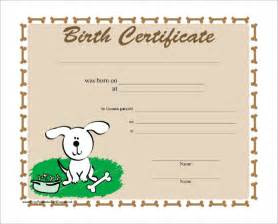 birth certificate template sle birth certificate 11 free documents in word pdf