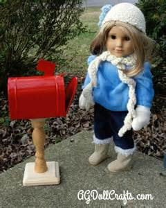 Diy american girl doll mailbox ag doll crafts