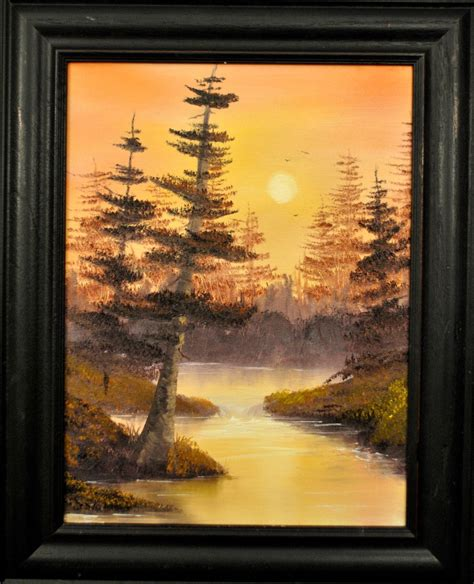 bob ross paintings archive happy trees studio november 2012