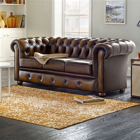 divano winchester winchester 3 seater sofa from sofas by saxon uk