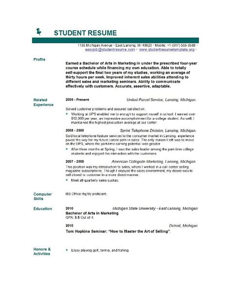 Sle Combination Resume Guides by Free Resume Builder For High School Graduates