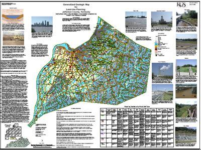 kentucky land map kentucky land use planning maps available to teachers