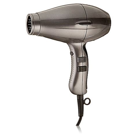 Hair Dryer Light buy elchim 3900 light ionic ceramic hair dryer in grey from bed bath beyond