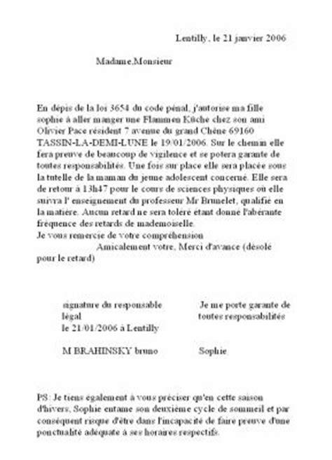 Lettre D Excuse Conseil De Discipline le p 233 tage du self et sa lettre d excuse les