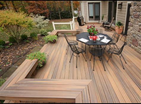 modern decks baltimore fiberon deck