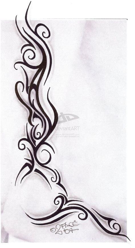 tribal tattoo on side tribal tattoos on side tattooflash tribal design