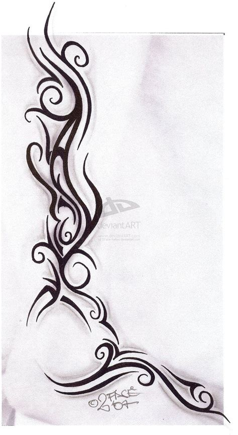 tribal tattoos on side tribal tattoos on side tattooflash tribal design
