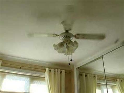 diet coke bottle spinning on a ceiling fan