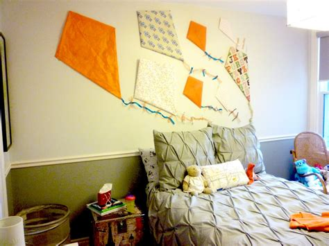 homemade bedroom ideas bedroom wonderful kite set as wall ornaments on creamy