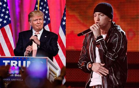 eminem youtube trump eminem brings on a loaded lyrical attack on donald trump