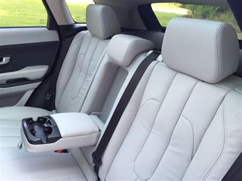 range rover evoque back seat space review 2015 land rover range rover evoque the road