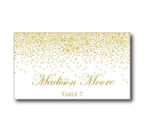 diy place cards word template printable wedding place cards gold wedding gold