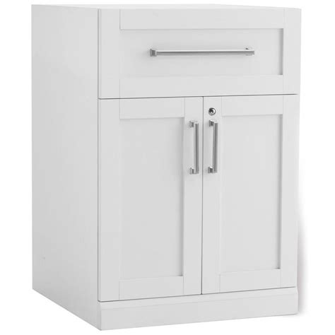 newage products white woodgrain bar cabinet 60004 the