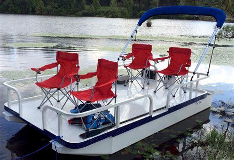 pontoon vs flat bottom boat pro strike 126 exr mini pontoon boat