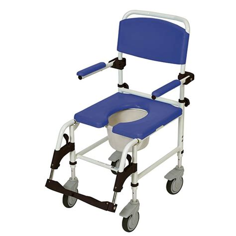 drive aluminum rehab shower commode chair with 5
