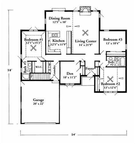 house square footage house plans 1600 to 1800 square feet