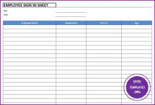 employee sign in sheet template excel employee sign in sheet template excel templates excel