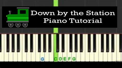 piano tutorial up is down down by the station easy piano tutorial with free piano