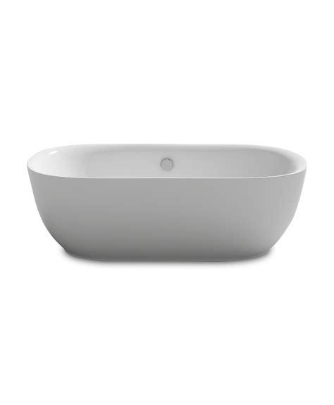 bathtub freestanding modern kokss freestanding modern seamless acrylic bathtub lamone