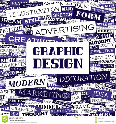 graphics design words graphic design stock images image 34614314