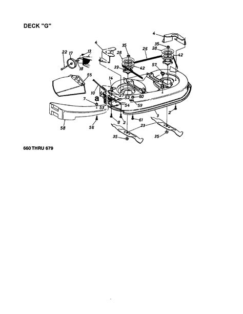 MTD 13AS679G062 front-engine lawn tractor parts | Sears