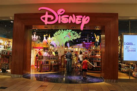 disney store opens at florida mall in new imagination park location closest to walt disney world