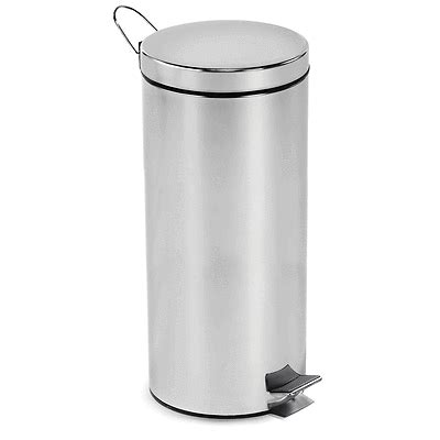 Kitchen Trash Can Sizes trash can kitchen garbage can stainless steel 3 sizes ebay