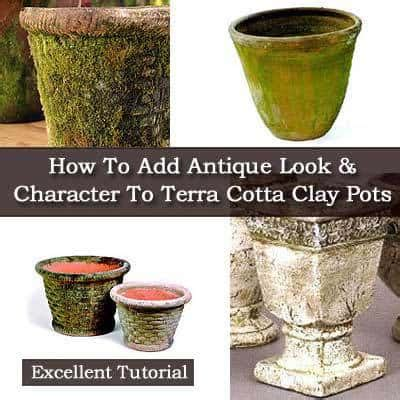 how to make terracotta how to add an antique look and character to terra cotta