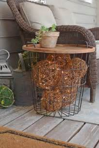Front Porch Table 25 Diy Decorating Ideas To Quot Quot Up Your Front Porch